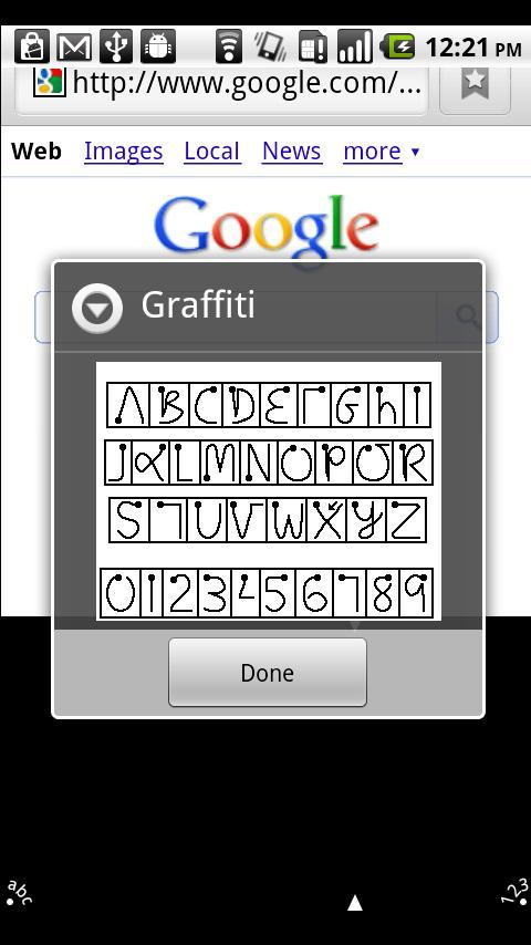 Graffiti Pro for Android- screenshot