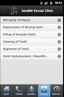 Screenshot of Chennai Dental