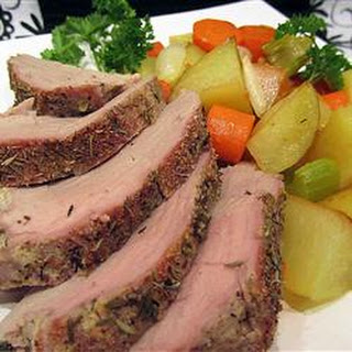 Herb Roasted Pork Loin and Potatoes