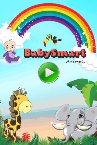 BabySmart Animals Free - screenshot