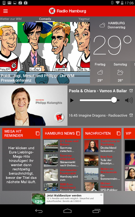 Radio Hamburg – Screenshot