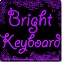 Bright Purple Keyboard Skin logo