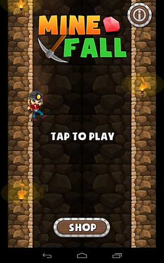 Mine Fall - Falling Game