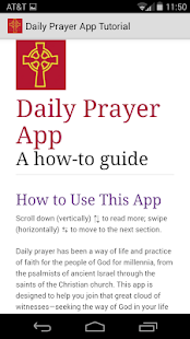 Daily Prayer PC(USA) - screenshot thumbnail