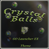 Crystal GO Launcher EX theme