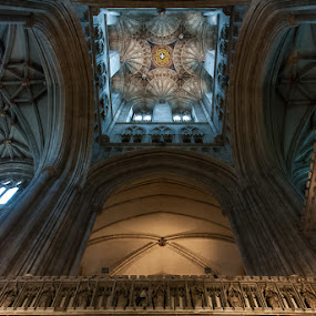 Canterburry Cathedral by Wim De Koster - Buildings & Architecture Places of Worship ( canterburry cathedral, england, church, canterburry, cathedral )