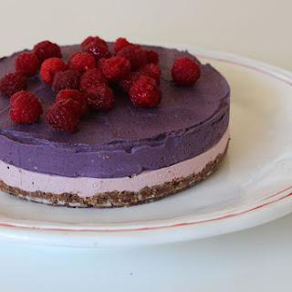 Raw Vegan Maqui Berry Cheese Cake