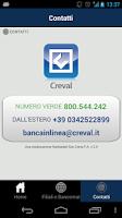 Screenshot of CrevalApp