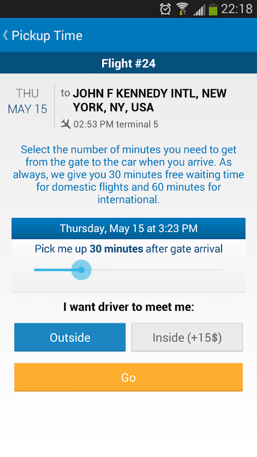 GroundLink Car & Limo Service- screenshot