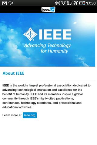 IEEE.tv - screenshot