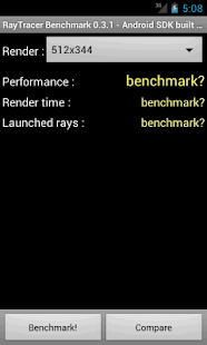 RayTracer Benchmark - screenshot thumbnail