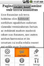 Librarium II Latin Text Reader