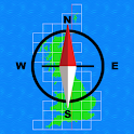 GB Grid Ref Compass icon