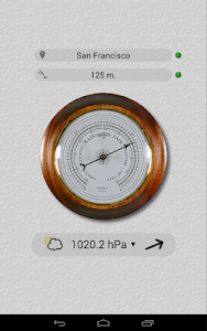 Accurate Barometer Free screenshot 3
