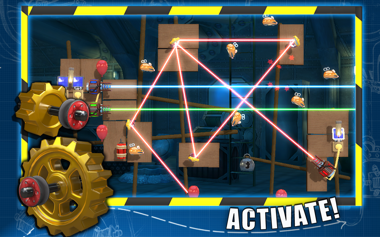 CrazyMachines GoldenGears Lite - screenshot