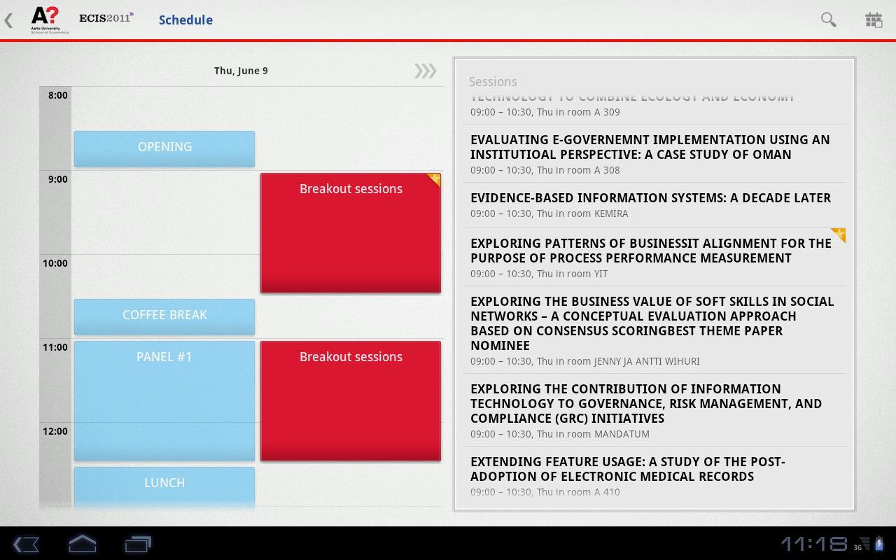 ECIS2011- screenshot