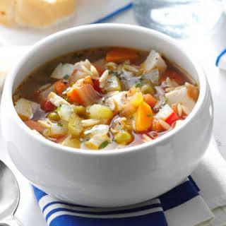 Skinny Turkey-Vegetable Soup.