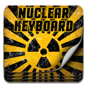 GO Keyboard Nuclear Theme