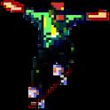 Pixel Skateboard icon