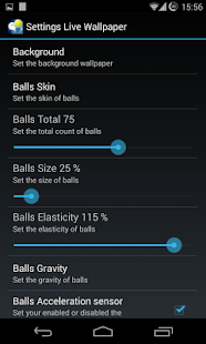 H Screen Balls Live Wallpaper- screenshot thumbnail