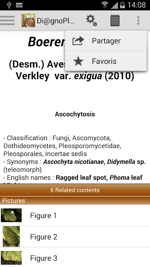 DiagnoPlant Tobacco- screenshot