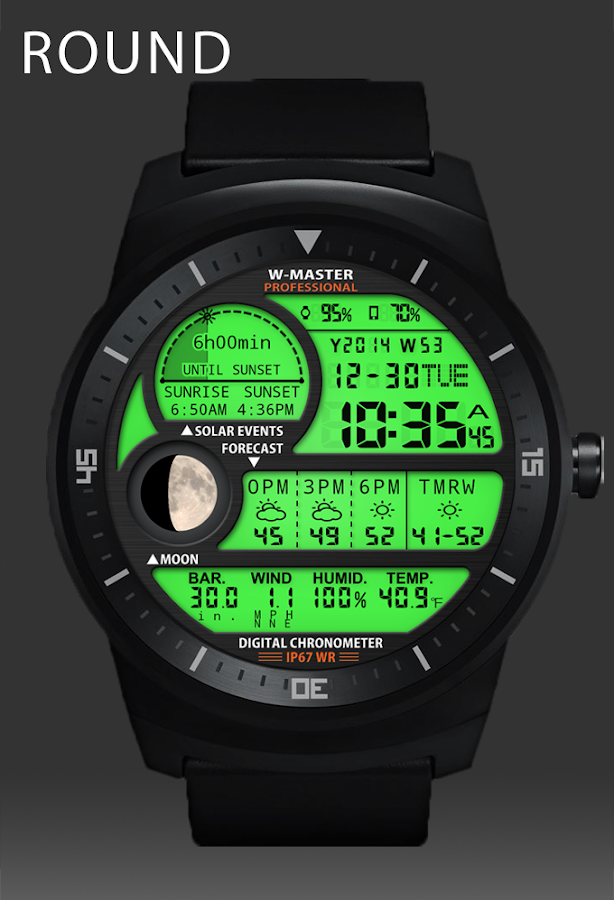 F04 WatchFace for Android Wear - Android Apps on Google Play