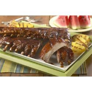 Hoot-n Holler Baby Back Pork Ribs.