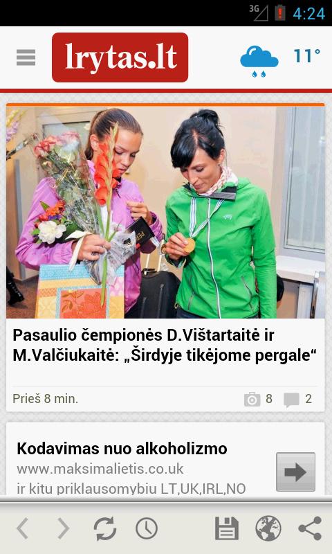 Lrytas.lt news - screenshot