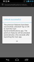 Screenshot of DynamicNotifications Unlocker