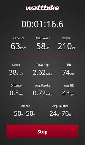 Wattbike powerapp