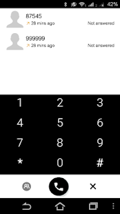 Exdialer Android L Theme Flat