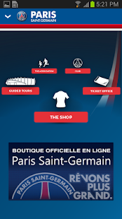 PSG Official - screenshot thumbnail