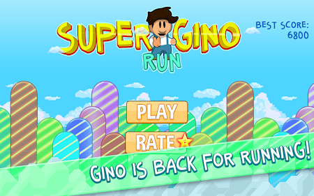 Super Gino Run 1.0.0 screenshot 203344