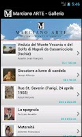 Screenshot of Marciano Arte-Galleria d'Arte