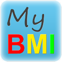 My BMI by DRP (english) logo