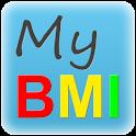 My BMI by DRP (english) logo