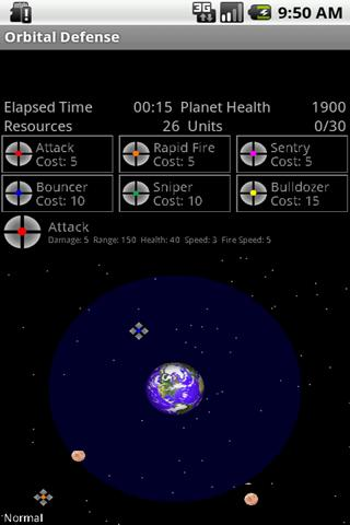 Orbital Defense- screenshot