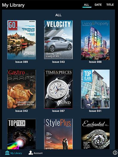 Editions Newsstand- screenshot