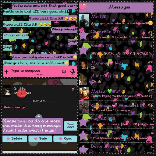 Fancy Go SMS Pro Theme