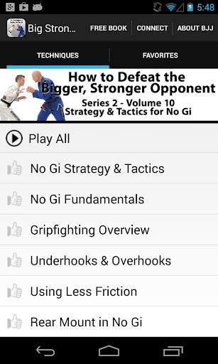 BigStrong 10 No Gi Strategies