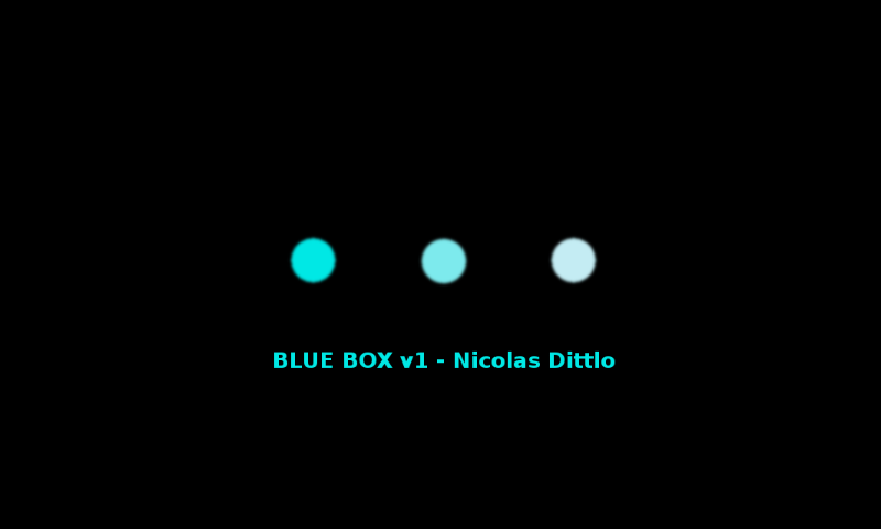 BlueBox - screenshot
