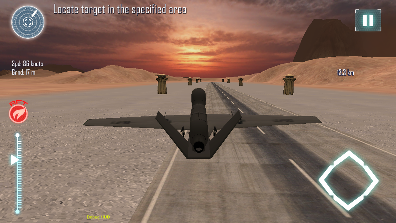 Drone Strike Flight Simulator - screenshot
