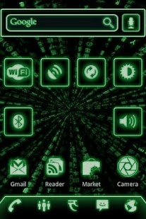 Green Glow Code Widgets Pro- screenshot thumbnail