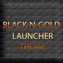 BLACKNGOLD LAUNCHER THEME icon