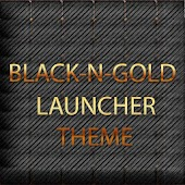 BLACKNGOLD LAUNCHER THEME