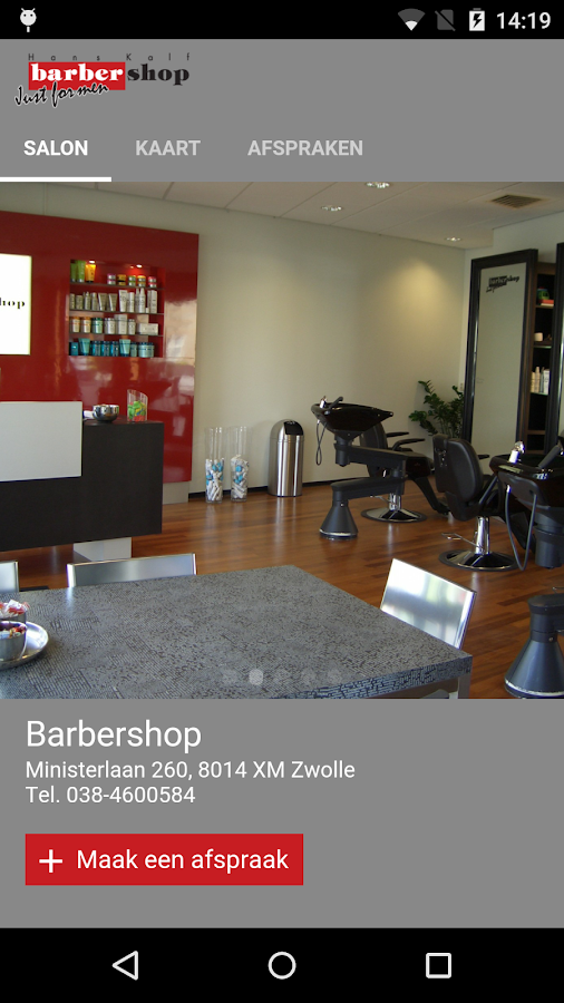 Barbershop Zwolle- screenshot