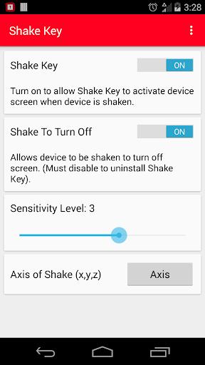 Shake Key: Lock and Unlock