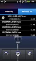 Screenshot of Super Recorder