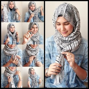 Free Hijab Style Tutorials
