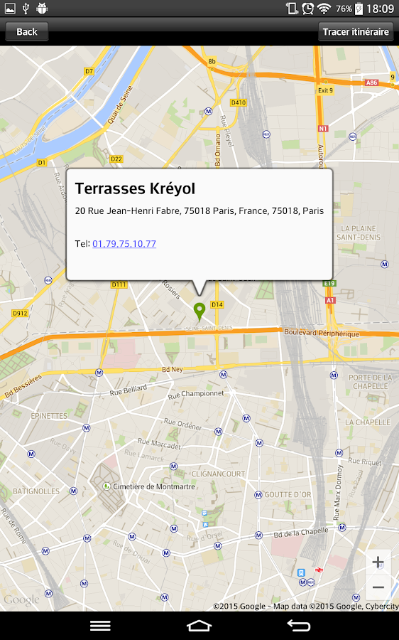 Terrasses kr yol android apps on google play for Terrasse translation